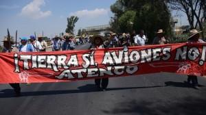 Hay resistencia en Atenco a la construcción del nuevo aeropuerto. Foto/Cuartoscuro