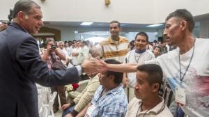 El Gobierno de Oaxaca otorgó la libertad bajo caución y el beneficio preliberacional a 112 reclusos, en su mayoría indígenas y personas de escasos recursos. Foto/Especial