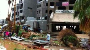 Graves daños dejó Odile, en su paso por BCS. Foto/Twitter