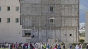 Decenas de turistas abandonaron los hoteles tras el paso de Odile. Foto/Cuartoscuro