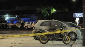 El lugar quedó resguardado por elementos de la Secretaría de Seguridad Pública capitalina. Foto: Luis Carbayo/Cuartoscuro