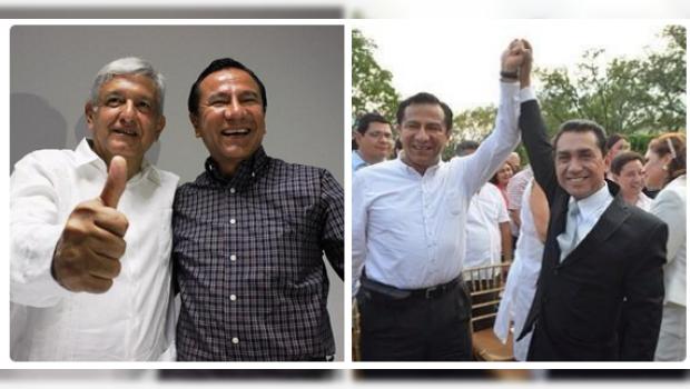 PRD inicia guerra sucia contra Morena; vinculan a AMLO con alcalde de Iguala