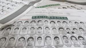 Lista de estudiantes desaparecidos desde el 26 de septiembre de 2014 (Saúl López/Cuartoscuro)