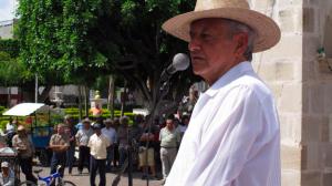 Andrés Manuel insistió en que Peña Nieto debe renunciar a la Presidencia. Foto/Facebook