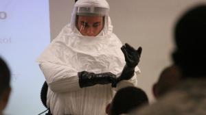 Equipo especial contra el ébola. México, preparado. Foto/AP