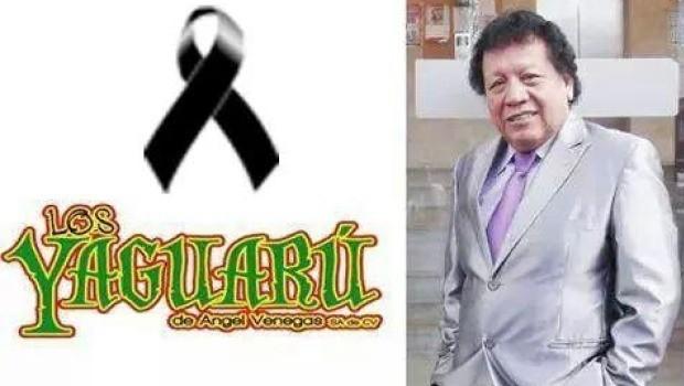 Muere Ángel Venegas, fundador del grupo tropical Yaguarú