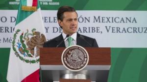 (@PresidenciaMX) Peña Nieto encabeza ceremonia de abanderamiento para delegación mexicana