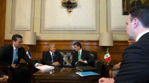 (@PresidenciaMX) EPN con su homólogo de El Salvador