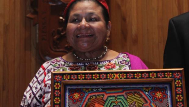 """Como """"repudiables y condenables"""" calificó la guatemalteca Rigoberta Menchú. Foto/Cuartoscuro (Archivo)"""