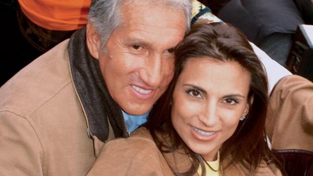 Arturo Montiel y Maude Versini. Continúa el conflicto. Foto/Especial