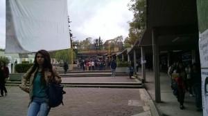 (@EseLoboFeroz) Acceso principal de la FES Acatlán