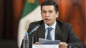 Fernando Aportela aseguró que el Gobierno federal no está satisfecho con la tasa de crecimiento. Foto/Cuartoscuro