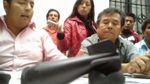 (@35mmpuebla) Javier Montes Bautista, presidente auxiliar de San Bernardino Chalchihuapan