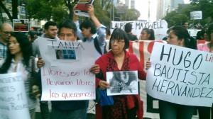 La señora Ana Cruz al centro. Foto: Alejandro Pacheco / SDPnoticias.com