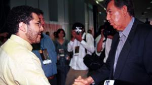 Martí Batres y Cuauhtémoc Cárdenas. Respeto. Foto/Cuartoscuro