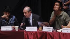 Mesa de diálogo en el IPN (Enrique Ordoñez/Cuartoscuro)