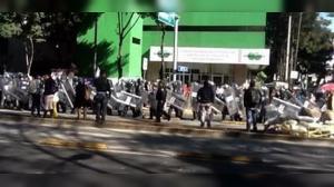 (@DAVIDROMEROROVARA) Bloquearon por una hora la circulación sobre Insurgentes Sur