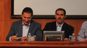 Rafael Moreno Valle y Guillermo Padrés. Bajo la mira. Foto/Cuartoscuro