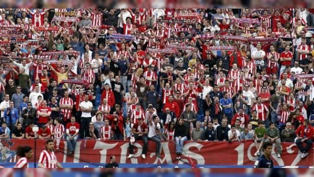 La pelea se dio cita al término del encuentro entre las escuadras del Atlético de Madrid y el Deportivo la Coruña