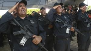 A la Policía Rural, antes Autodefensa, se les armó cuando se formó. Foto/Cuartoscuro