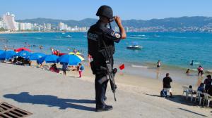 Policía Federal en Acapulco. Resguardo. Foto/Cuartoscuro