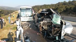 El incidente tuvo lugar sobre el kilómetro 205 en dirección a Puebla. Foto/@REFORMACOM