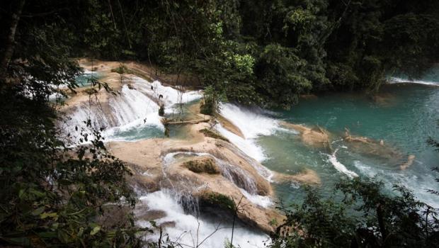 Cascadas de Agua Azul. Foto: Especial