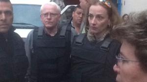 Florence Cassez al salir de la cárcel. En enero de 2013, la SCJN ordenó su inmediata libertad. Foto/Cuartoscuro (Archivo)