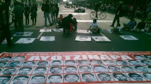 Marcha sobre Reforma integrada por 1500 personas