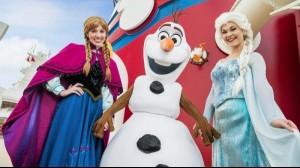 ¡Conoce a Elsa y Anna en este maravilloso crucero!