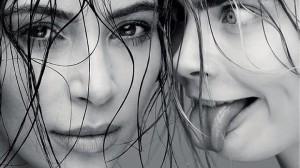Dos diosas en una portada.