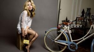 Georgia May Jagger protagoniza la nueva campaña de Mulberry.