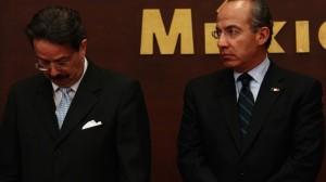 Juan Molinar Horcasitas y Felipe Calderón. Crudas críticas. Foto/Cuartoscuro (Archivo)