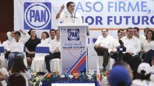 Jorge Luis Preciado en la Reunión Plenaria de Senadores del PAN. Foto: PAN/Cuartoscuro