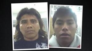 Paulino Hernández Granados y Raúl Granados Rendón son acusados de prostituir a jóvenes llevadas desde México con engaños. Foto/Especial