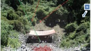 PGR afirma que a partir de análisis lógicos y causales, los 43 estudiantes de la Normal Rural de Ayotzinapa fueron privados de la libertad, calcinados y sus restos arrojados al Río San Juan en el municipio de Cocula. Foto: PGR/Cuartoscuro