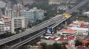 Vista aérea de Autopista urbana del Sur. Foto: Internet