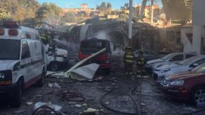 Escombros. Explosión en Hospital Materno Infantil. Foto/Cuartoscuro