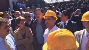 (@SSalud_mx) Mercedes Juan, Osorio Chong y Miguel Ángel Mancera