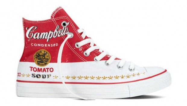 Fans de Andy Warhol, ¿ya tienen sus Converse?