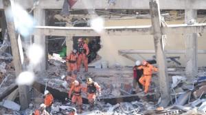 Escombros. Se indagan negligencias tras explosión en Hospital Materno. Foto: Iván Stephens/Cuartoscuro