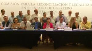 Comisión para la Reconciliación y Legalidad en Guerrero Foto: Sedesol_mx