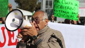 Protesta de defraudados de Ficrea. En la lucha han seguido los ahorradores para recuperar su dinero. Foto/Cuartoscuro (Archivo)