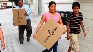 En varios municipios de hidalgo se observa que muchas familas permanecerán con la televisiones digitales apagadas.