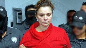 María de los Ángeles Pineda, una de las señaladas de la desaparición de los 43 normalistas el pasado 26 de septiembre. Foto/PGR