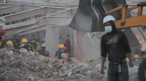 La pipa de Gas Express Nieto que explotó en el Hospital Materno Infantil dejó 3 muertos. Foto/Cuartoscuro