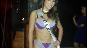 Denise, la primer Miss Bumbum México. Foto: @MissBumBumMéxico