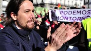 Pablo Iglesias, profesor y líder de Podemos. Foto: AFP