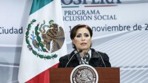 Rosario Robles, titular de la Sedesol