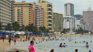 Ocupación en Acapulco. Fin de semana largo. Foto/Notimex